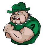 Sicurezza del bulldog Illustrazione Vettoriale