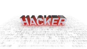 Sicurezza del computer hackers Sicurezza in gioco hacker royalty illustrazione gratis
