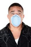Sicurezza della mascherina chirurgica Immagini Stock