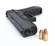 Sicurezza della pistola Immagine Stock Libera da Diritti