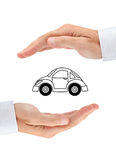 Sicurezza della vostra automobile Fotografie Stock Libere da Diritti