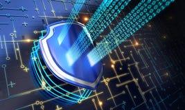 Sicurezza dello schermo Immagine Stock Libera da Diritti