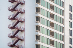 Sicurezza di alta costruzione Immagine Stock Libera da Diritti