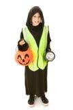 Sicurezza di Halloween immagine stock