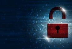 Sicurezza di Internet Immagine Stock