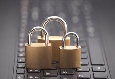 Sicurezza di Internet Fotografia Stock Libera da Diritti