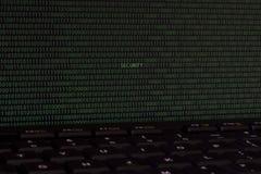 Sicurezza di Internet dello schermo di computer Fotografia Stock Libera da Diritti