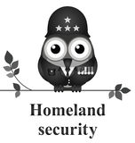 Sicurezza di patria Immagine Stock
