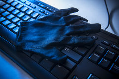 Sicurezza e fraude di Internet Immagini Stock