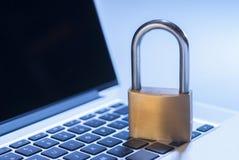Sicurezza informatica Fotografie Stock Libere da Diritti