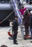 Sicurezza militare della nave immagine stock
