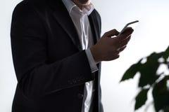Sicurezza mobile, phisning e crimine online fotografie stock libere da diritti