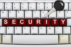 Sicurezza online Fotografie Stock Libere da Diritti