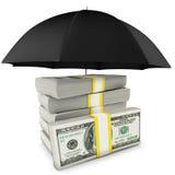 Sicurezza per i vostri soldi Immagine Stock