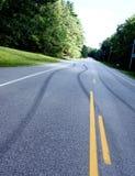 Sicurezza pericolosa di strada principale e di azionamento Immagine Stock Libera da Diritti