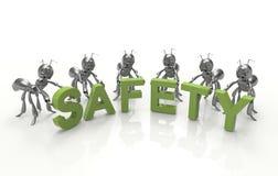 Sicurezza prima illustrazione di stock