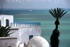 Sid bou Said,Tunisia. White houses in Sid bou Said ,Tunisia Royalty Free Stock Photo
