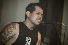 SID (Superman Is Dead) @Hard Rock Cafe Bali Stock Photos