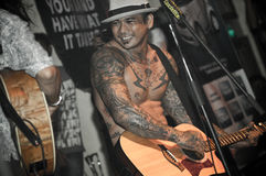 SID (Superman Is Dead) @Hard Rock Cafe Bali Stock Image