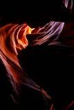 sida övreUSA för antiloparizona kanjon Royaltyfri Bild
