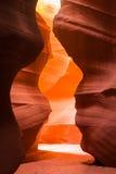 sida övreUSA för antiloparizona kanjon Royaltyfri Fotografi
