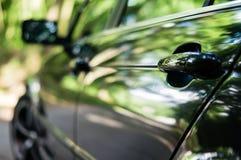 Sida av bilen Arkivfoton