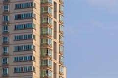 Bostads- byggnad för kick royaltyfria foton