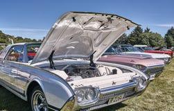 Sida av de klassiska bilarna Royaltyfria Foton