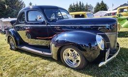 Sida av den klassiska bilen Royaltyfri Foto