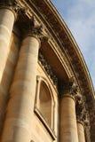 Sida av det Bodleian arkivet, Oxford royaltyfri fotografi