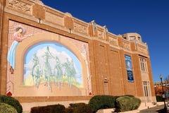 Sida av det nationella cowgirlmuseet och Hall av berömmelse Royaltyfria Foton