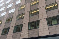 Sida av en byggnad Royaltyfria Bilder