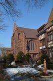 Sida av kyrkaframdelen Royaltyfri Foto