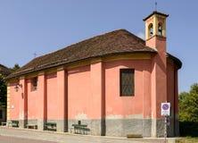 Sida av san Rocco, Sassello, Italien Royaltyfria Foton