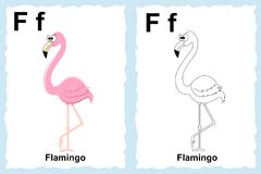 Sida för alfabetfärgläggningbok med översiktsgemkonst som färgar vektor illustrationer