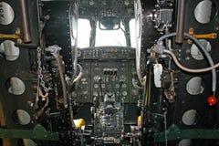 sida för cockpithandleyhärold Royaltyfri Foto