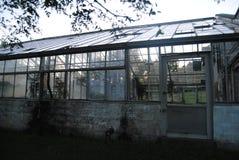 Sida för grönt hus royaltyfria foton
