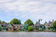 sida för grönt hus för land Royaltyfri Foto