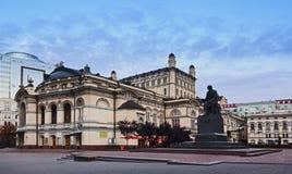 Sida för Kiev opera 02 Arkivbilder