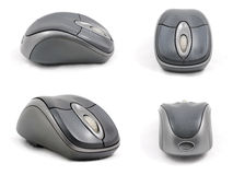 sida för mus för datordetalj fyra hög Royaltyfri Bild