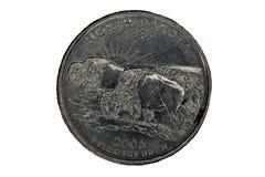 Sida för svans för North Dakota Förenta staternafjärdedel Royaltyfria Foton