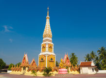 Sida Pagoda with Blue Sky Royalty Free Stock Photography