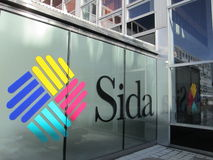 SIDA- Swedish International Development Cooperation Agency Royalty Free Stock Photo