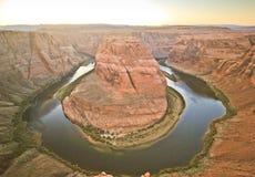 sida USA för anteckningsbok för man för arizona böjningshästsko Royaltyfri Foto