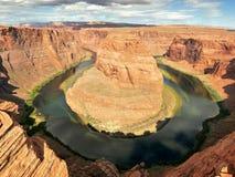 sida USA för anteckningsbok för man för arizona böjningshästsko arizona USA Royaltyfria Foton