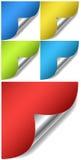 SidaCurles vektorer Royaltyfria Bilder