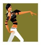 Sidan beskådar av kvinna Fotografering för Bildbyråer
