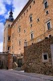 Alcazar av Toledo Arkivfoton