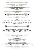 Sidaregler royaltyfri illustrationer