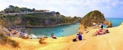 Sidari Beach, Corfu, Greece Royalty Free Stock Photo